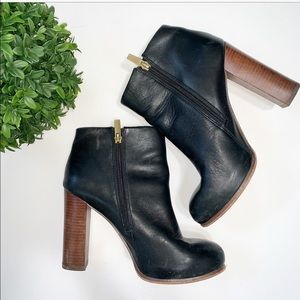 Vince Camuto Black Heeled Boots (7.5)